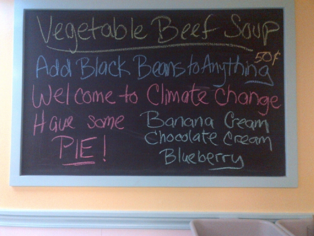Save The Planet - Eat Pie!
