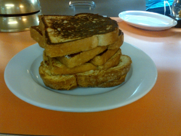 Now That's A Stack of French Toast!