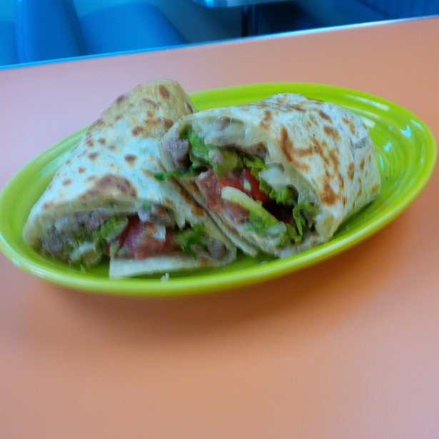Mexican Steak Wrap